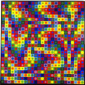 VICTOR VASARELY - LAHUMIERE