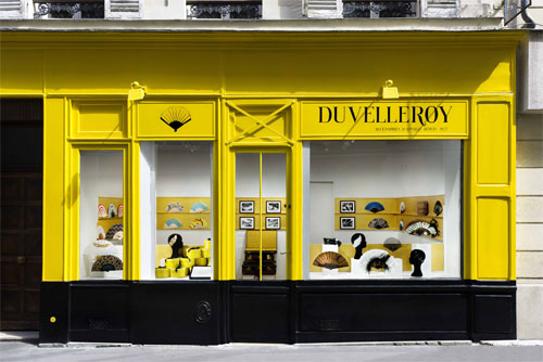 Duvelleroy - hand fan - Paris 7