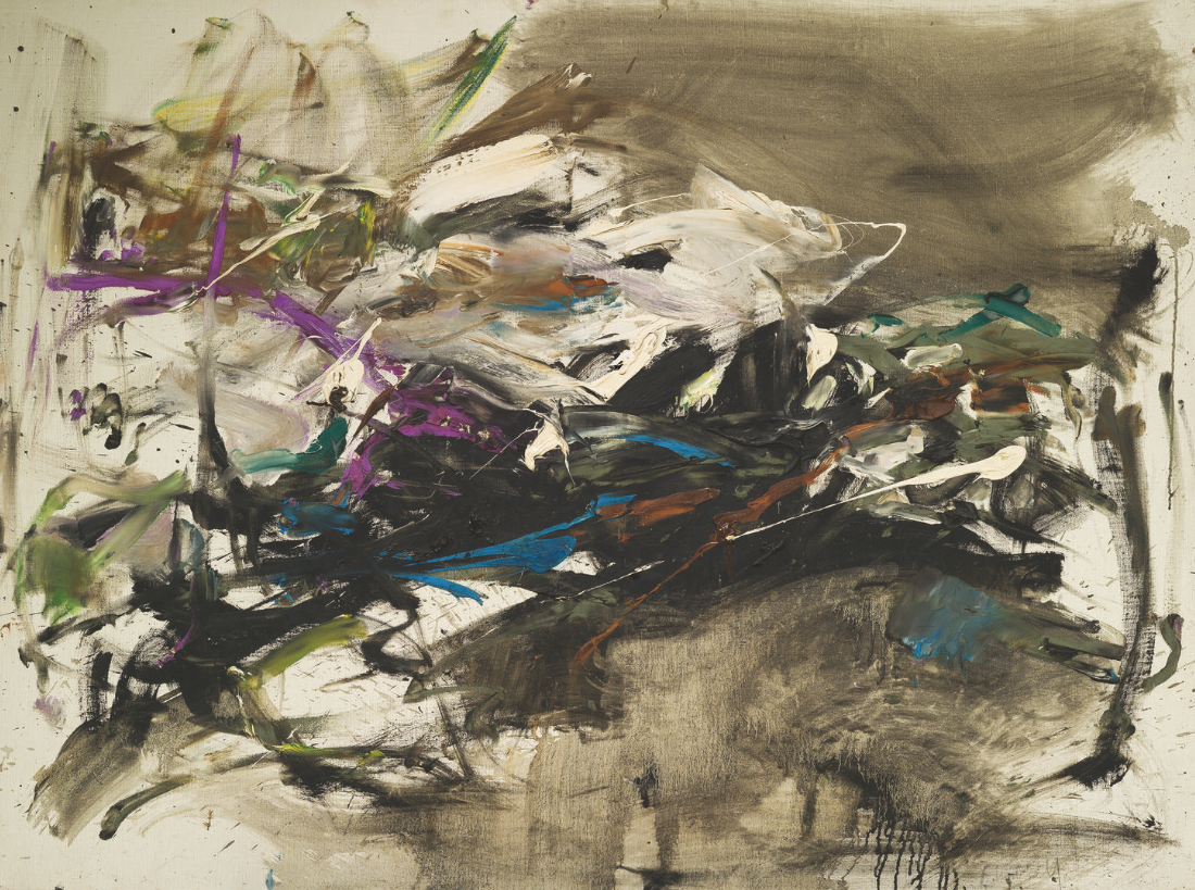 JOAN MITCHELL AND JEAN-PUL RIOPELLE MEET JEAN FOURNIER - GALERIE JEAN FOURNIER